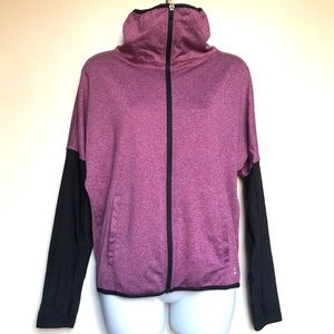 RBX athletic workout zip-up light jacket